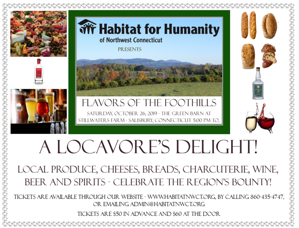 Habitat for Humanity of Northwest Connecticut presents Flavors of the Foothills